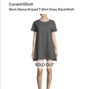 Current/Elliot t shirt dress with stripes